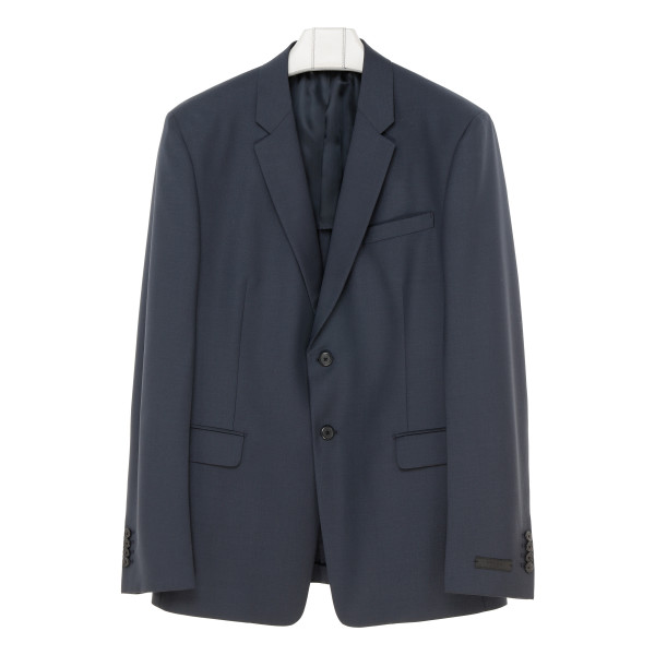 Light mohair single-breasted suit
