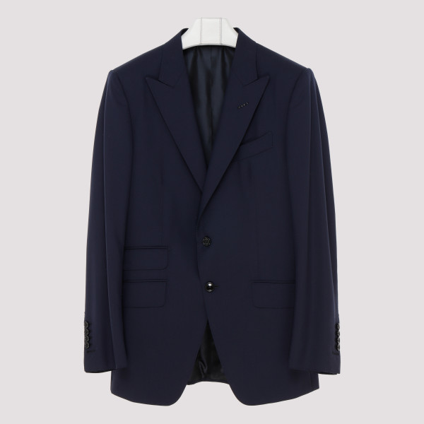 Blue wool O' Connor suit
