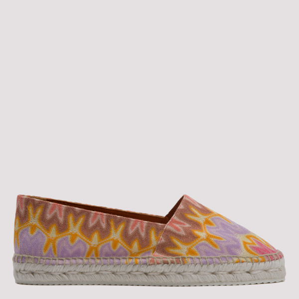 Printed knitted low...