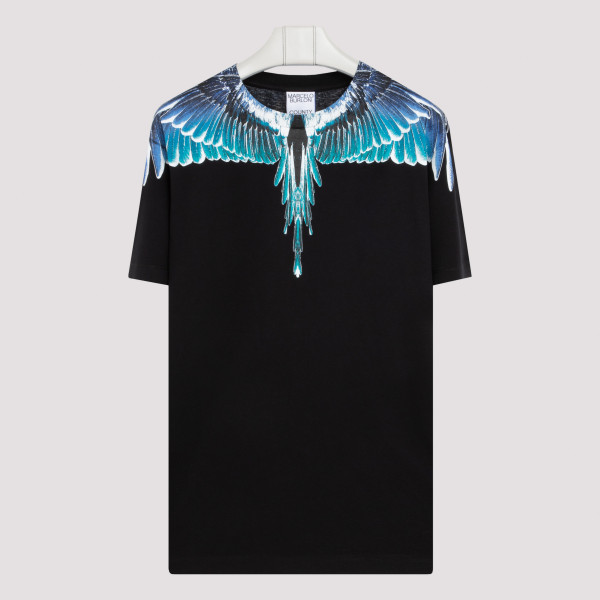 Turquoise wings black...
