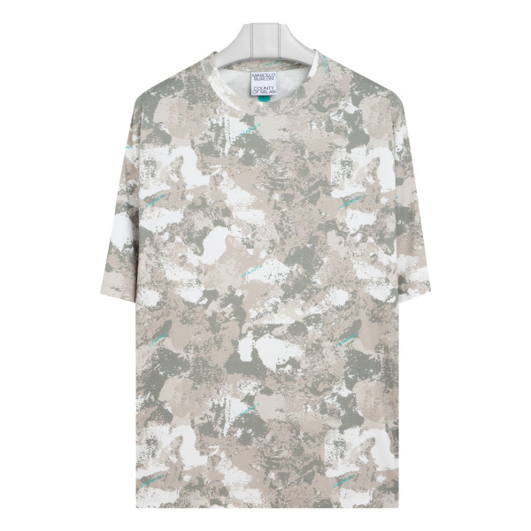 County camou over T-shirt