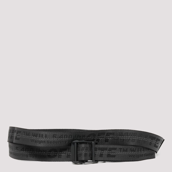 Black classic industrial belt