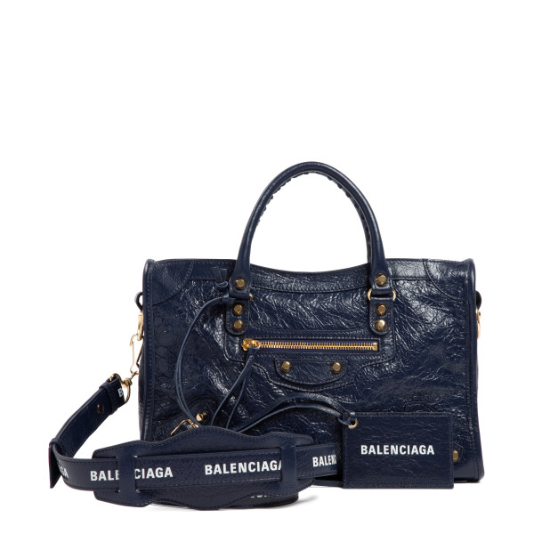 Classic City Navy small handbag