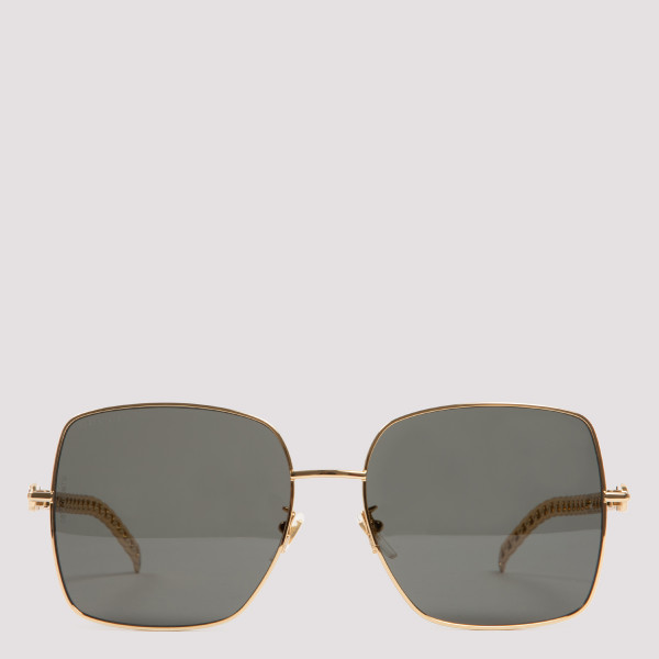 Chain squared sunglasses