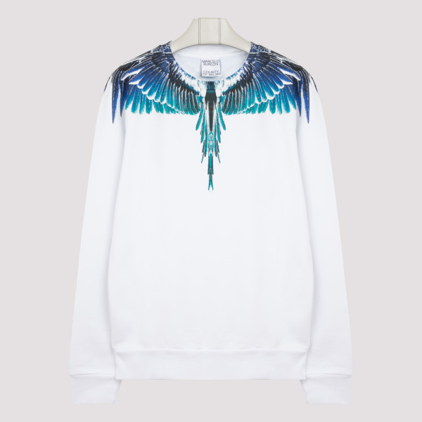 White turquoise wings...