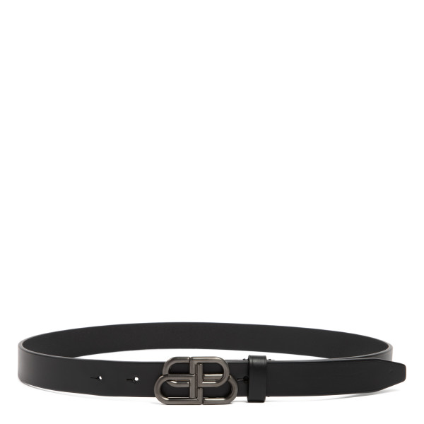 Black BB slim belt