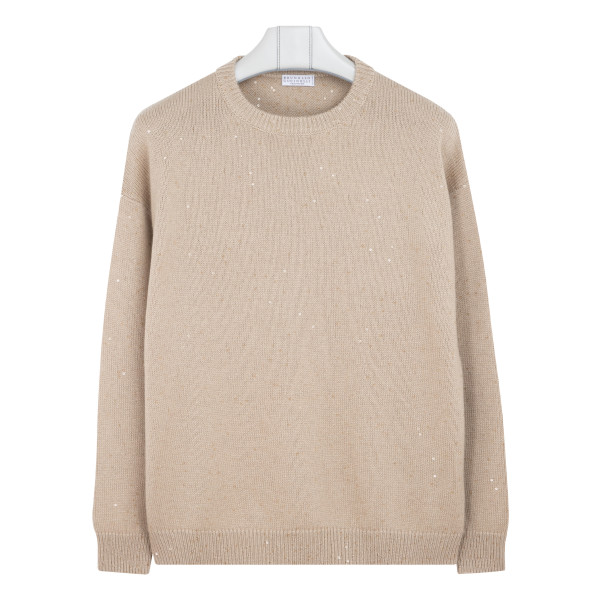 Cashmere and silk blend sweater