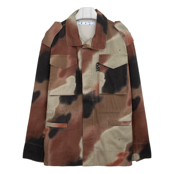 Camouflage Arrow Field jacket