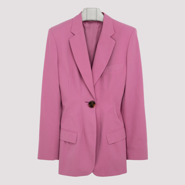 Orchid pink moire blazer