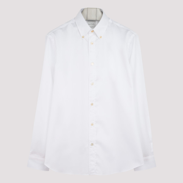 Gents white modern shirt