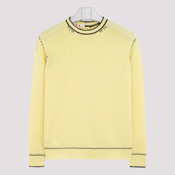 Light yellow cashmere sweater