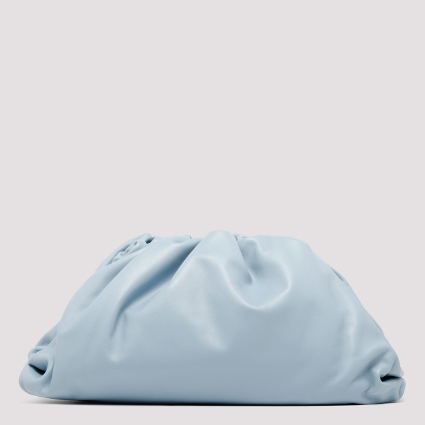 The Pouch ice blue clutch