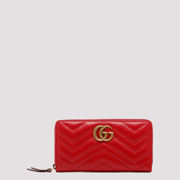 Red GG Marmont zip around...