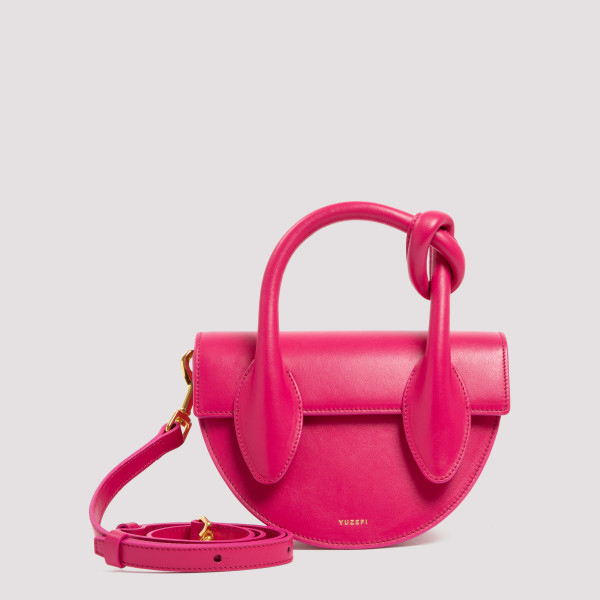 Dolores fuchsia leather bag