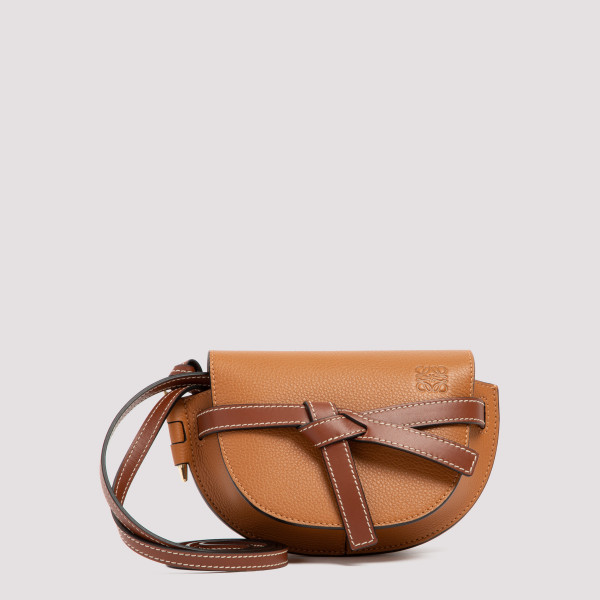 Gate caramel leather mini bag