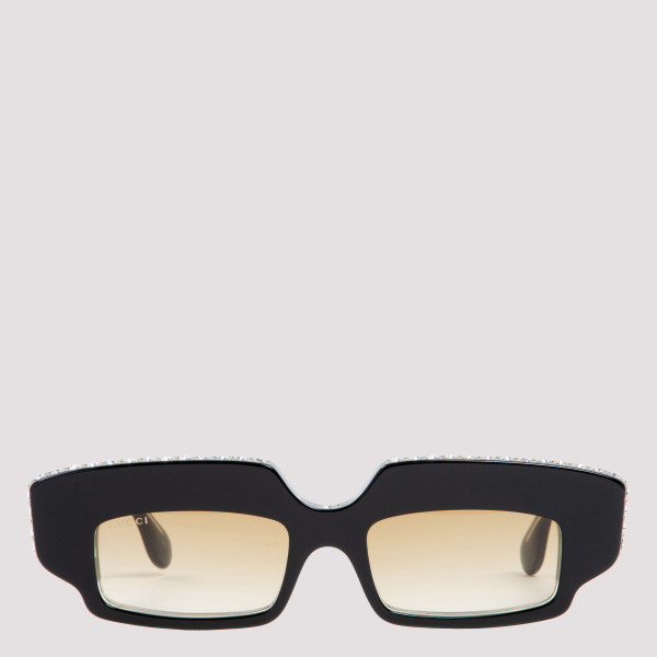 Rectangular sunglasses with...