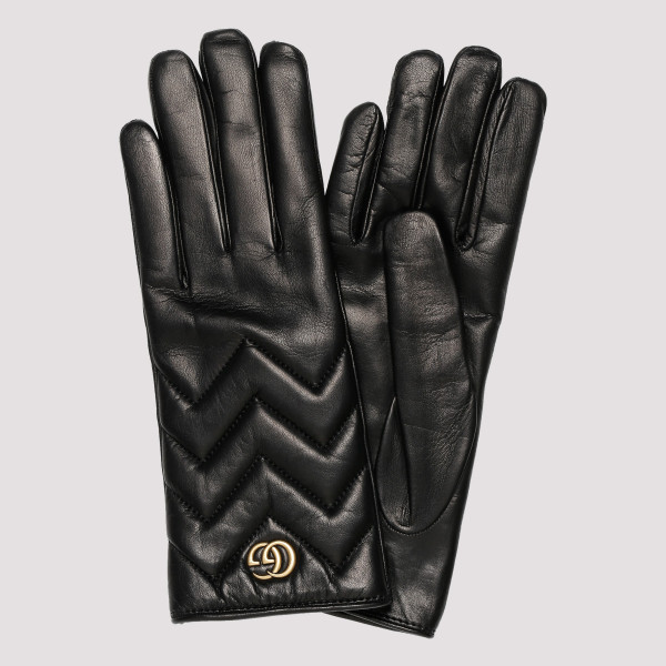 GG Marmont chevron leather...