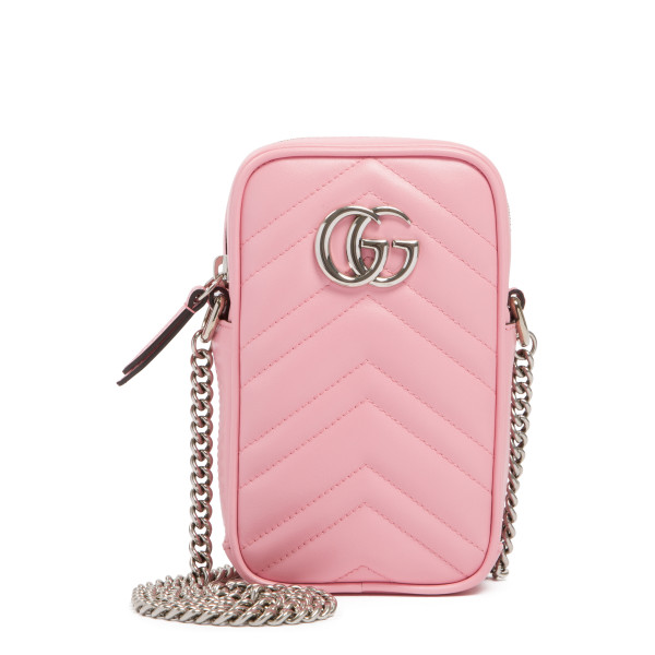 Pink GG Marmont mini bag