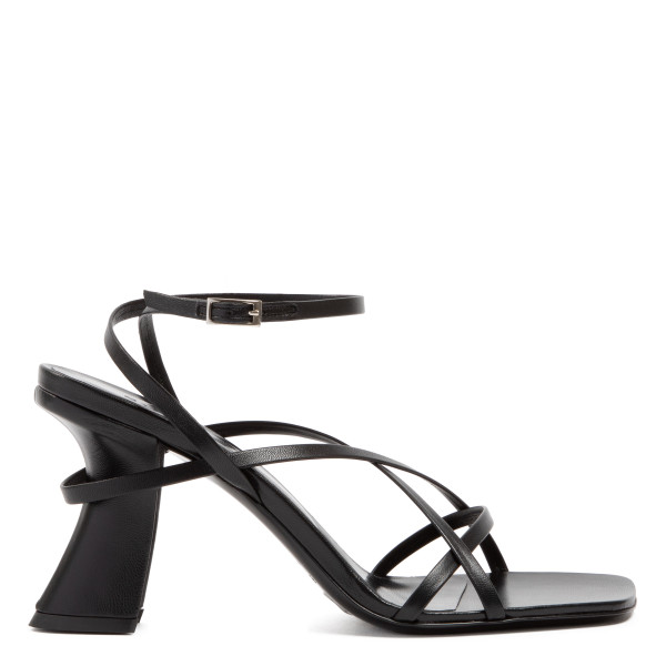 Kersti black strappy sandals