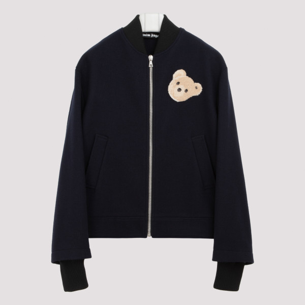 Blue bear zipped jacket