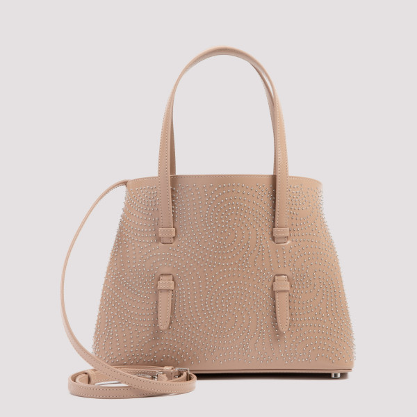 Mina 25 sand studded tote bag