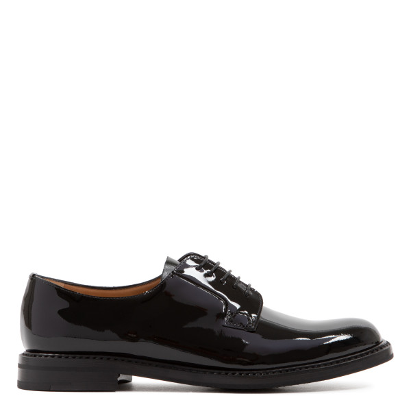 Shannon 2 WR black patent Derby shoes
