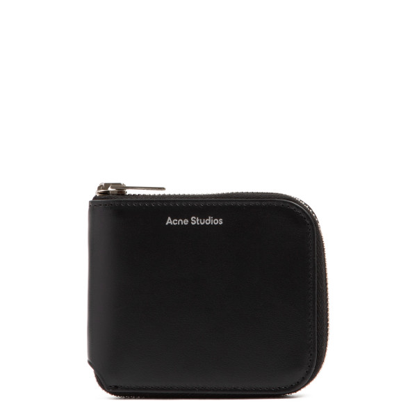 Black Kei S pouch with logo