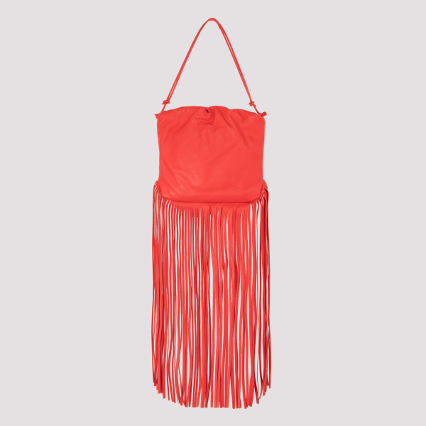 The fringe pouch in red
