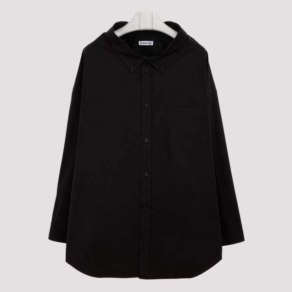 Black cotton Swing shirt