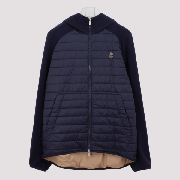 Hooded outerwear jacket