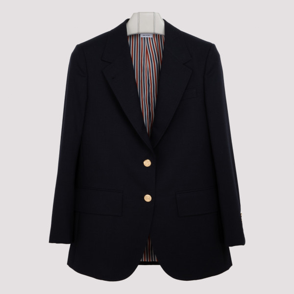 Dark navy wool jacket