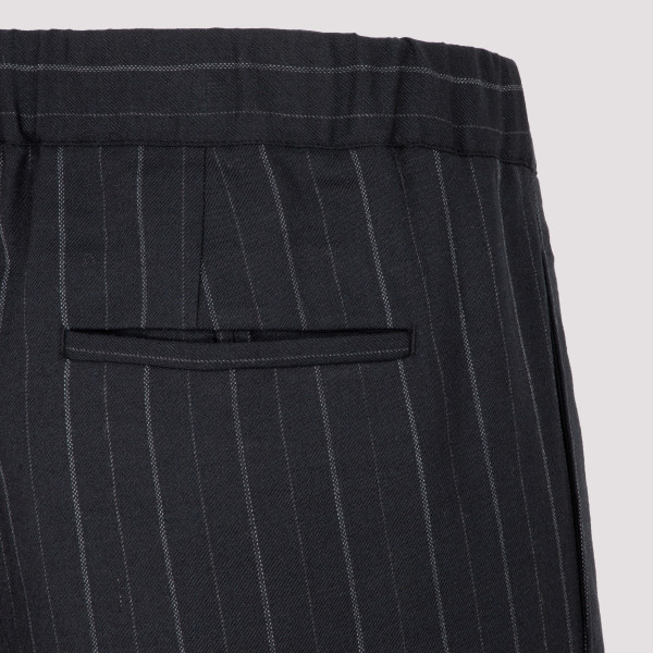 P28 WOOL PINSTRIPED  PANTS