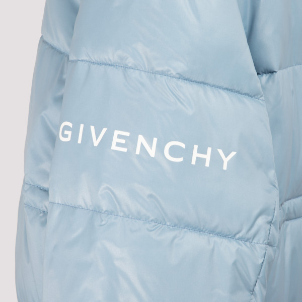 Mineral blue Reversible Puffer Jacket