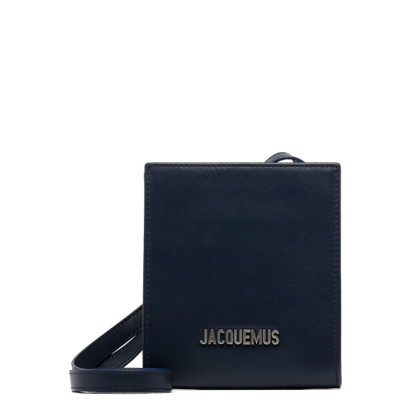 Le Gadjo strapped leather wallet