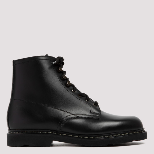 Imbattable black leather boots