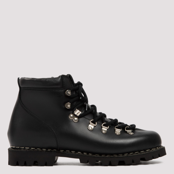 Black Avoriaz leather boots