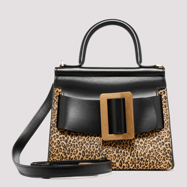 Karl 24 leopard petite handbag
