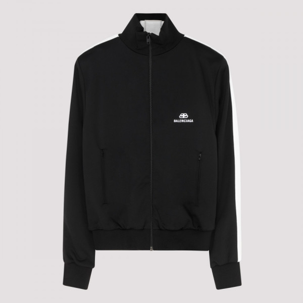 Black tracksuit jacket with...