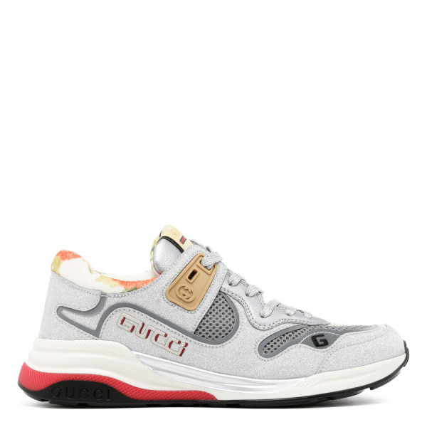 Ultrapace silver-tone sneakers