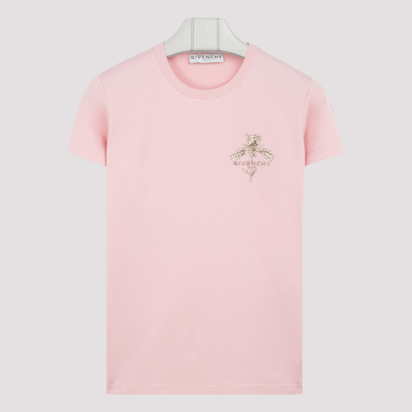 Pink t-shirt with sparkling...