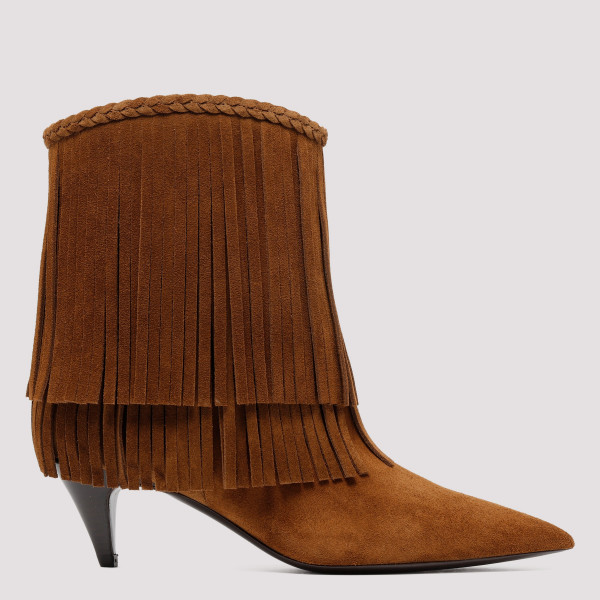 Charlotte fringed booties