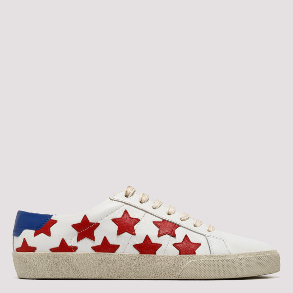 White Court Classic California sneakers with stars