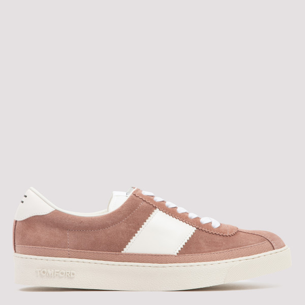 Bannister low top suede...