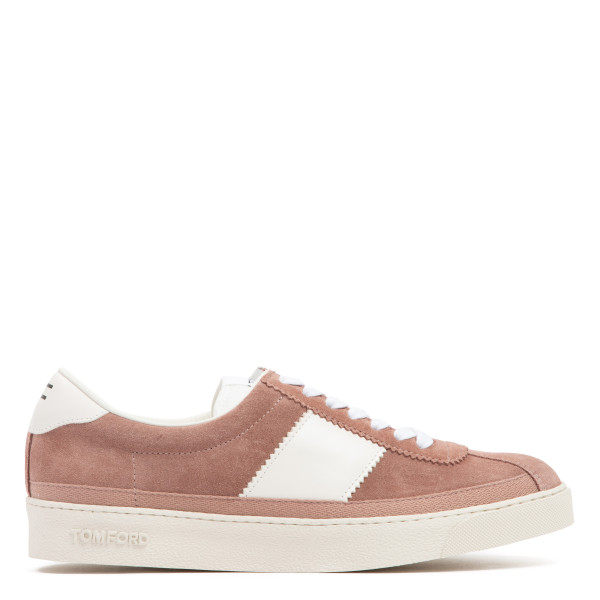 Bannister low top suede sneakers