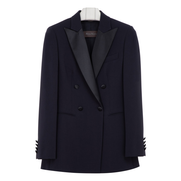 Lolly navy cady blazer