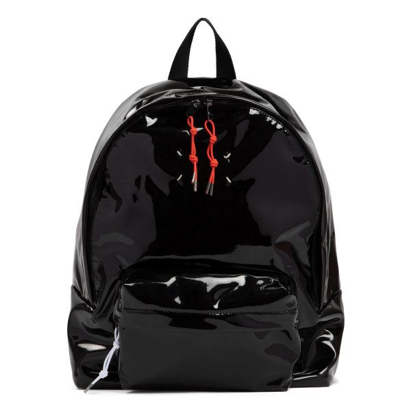Stereotype black lacquered backpack