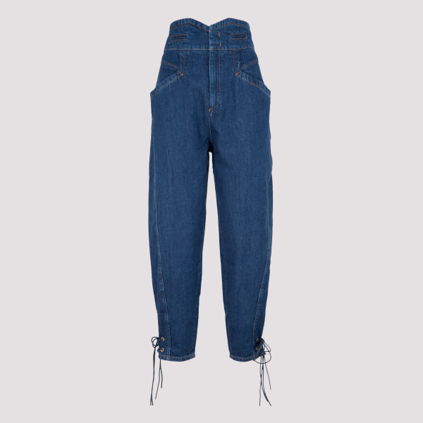 ISABEL MARANT NUBAIA BLUE DENIM JEANS