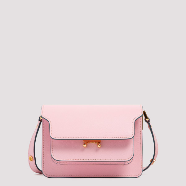Trunk candy pink saffiano...