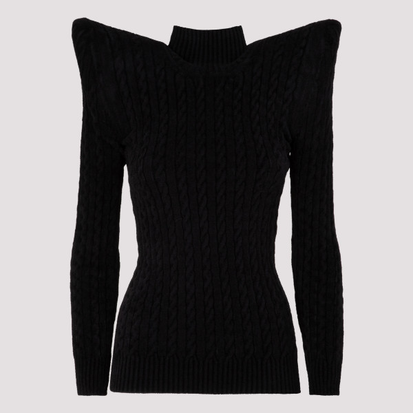Pagoda turtleneck velvet...