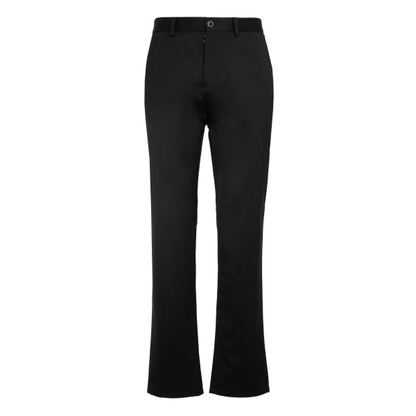 Black cotton pants